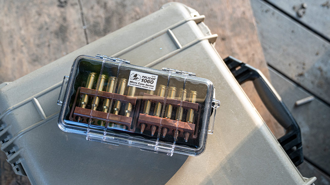 pelican 1060 micro clear pocket ammo case
