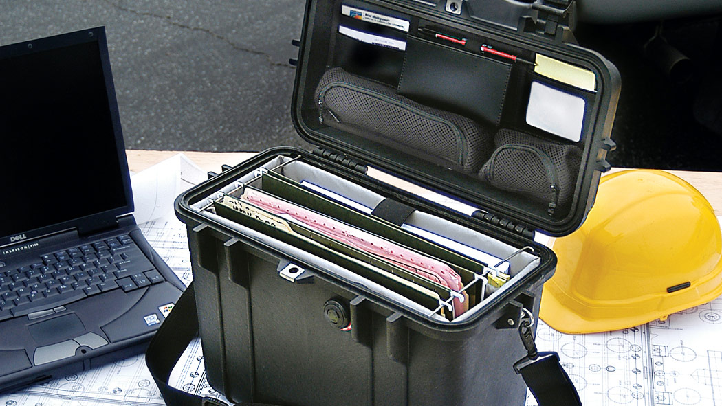 pelican 1430 flip top document case