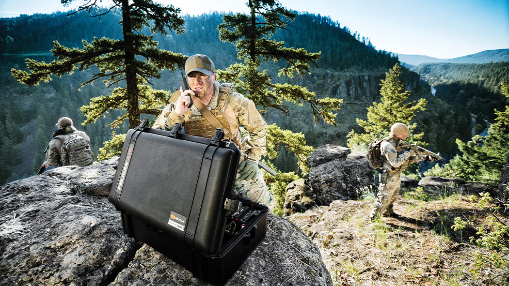 pelican 1605 radio communications case