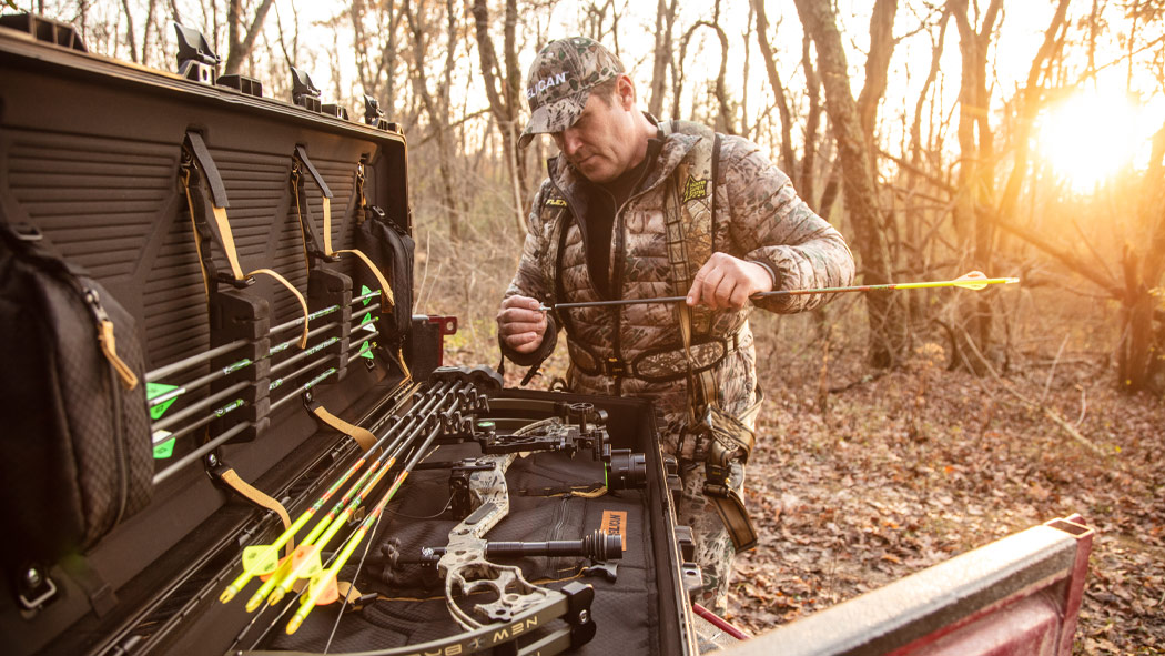 pelican 1745bow hunting air case