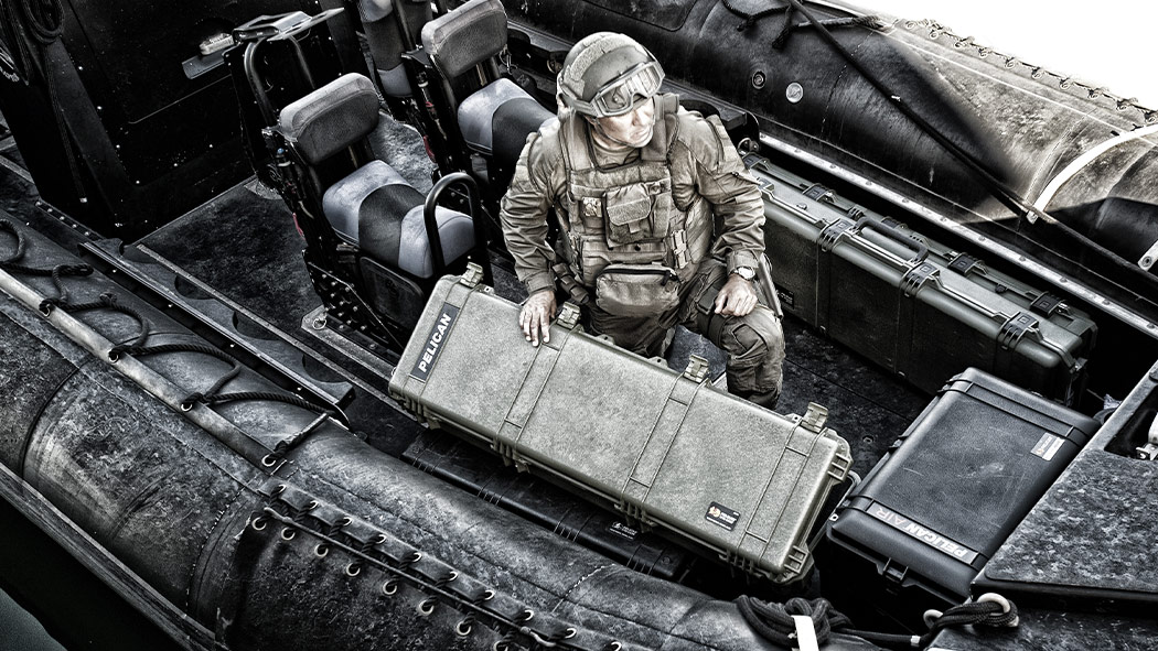 pelican 1750 military armory weapon case