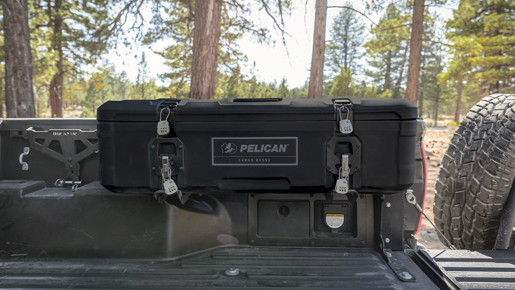 pelican bx55s truck saddle cargo case mounted