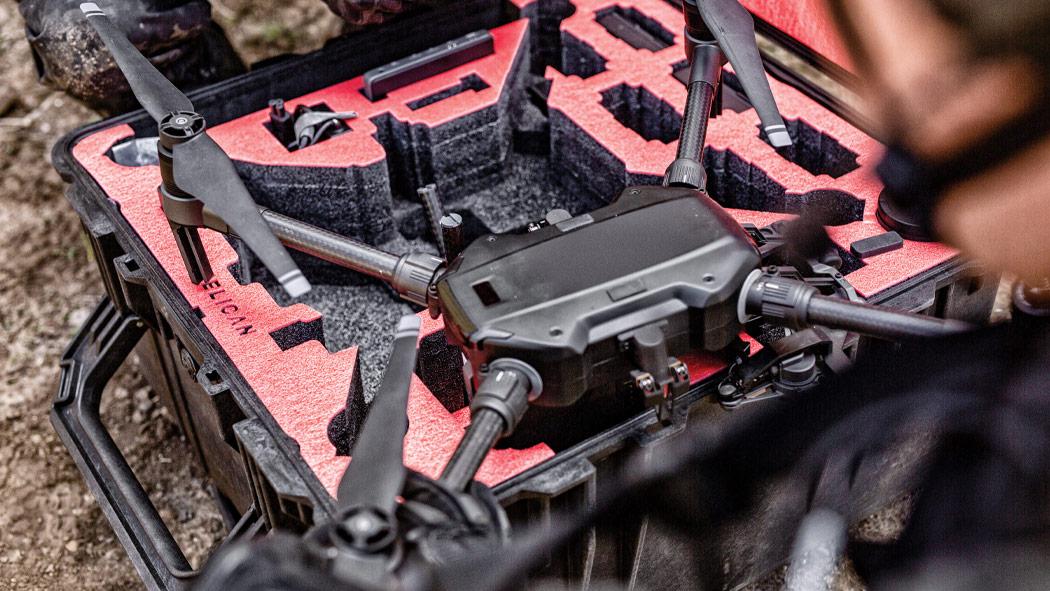 pelican matrice 200 professional drone case