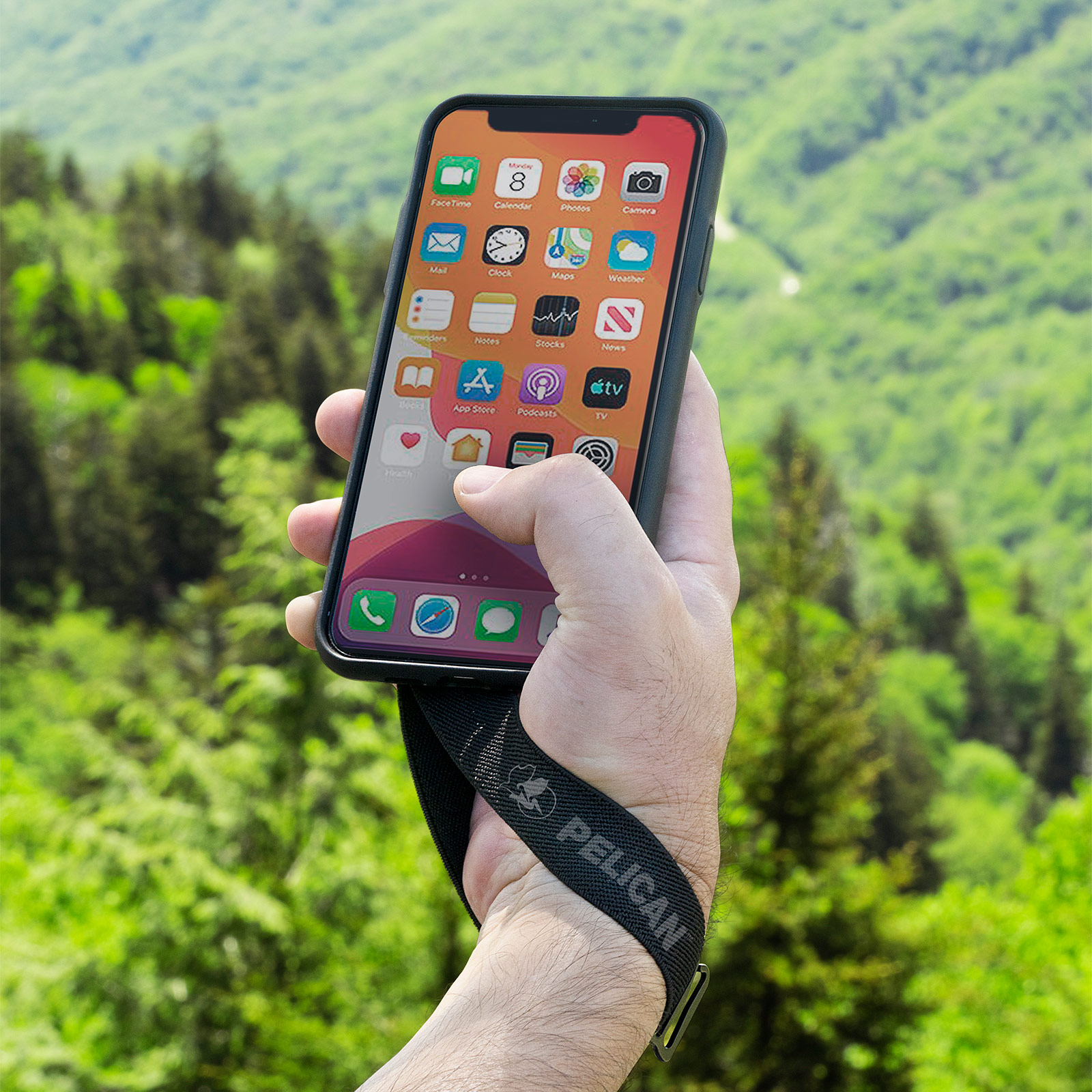 pelican protector sling strap iphone case