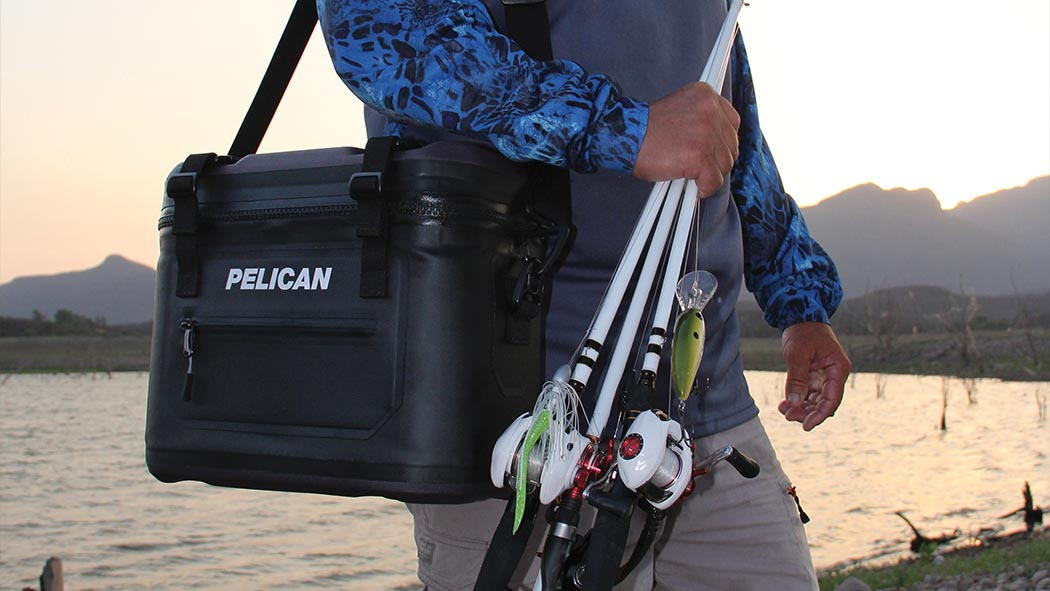 pelican sc12 fishing hunting outdoor soft cooler