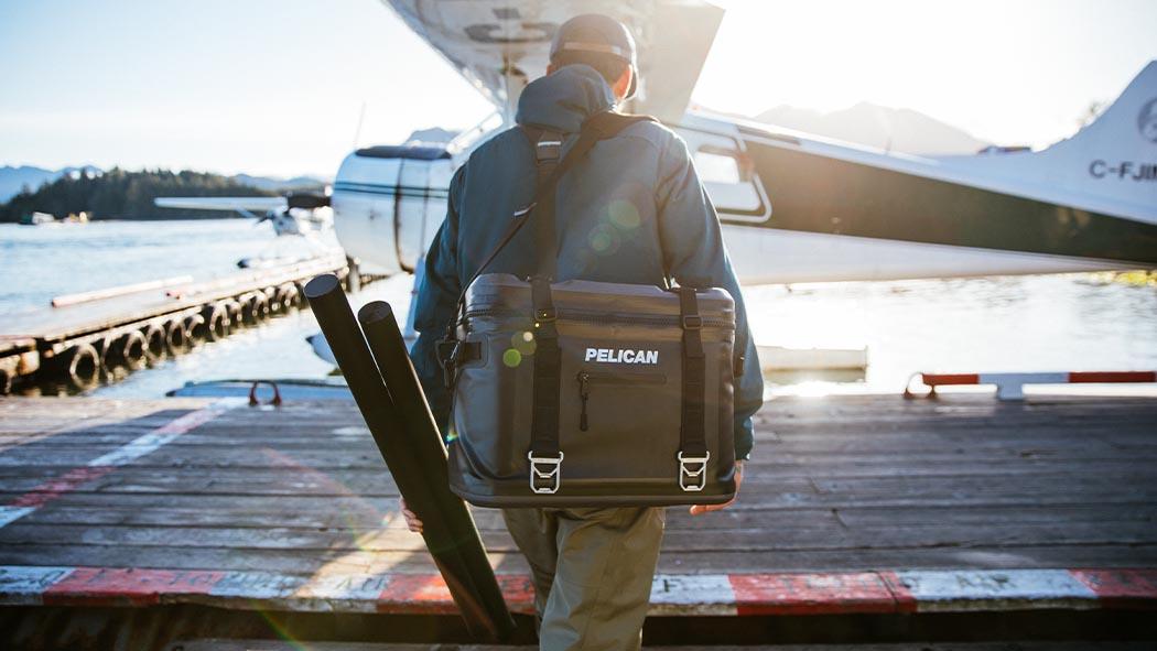 pelican sc24 24 can black soft cooler