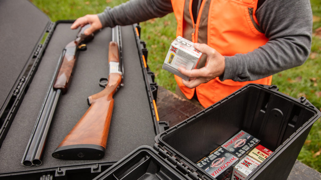 pelican v250 shotgun rifle ammo case