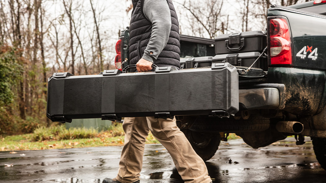 pelican v770 single rifle hunting case