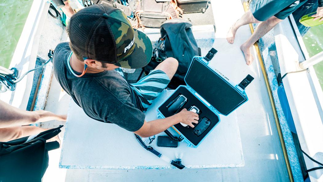 pelican vauilt v100c drone case