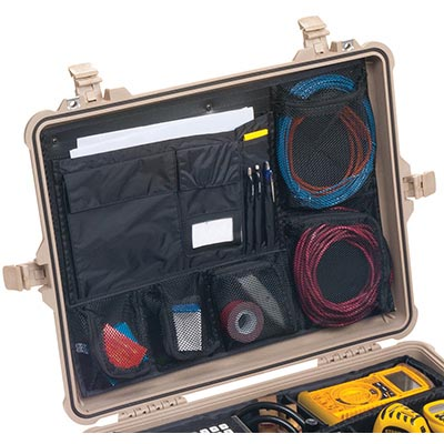 "Interior Dimensions 21.8/""x16.7/""x10.6/"" Pelican 1610 Watertight Protector Case"