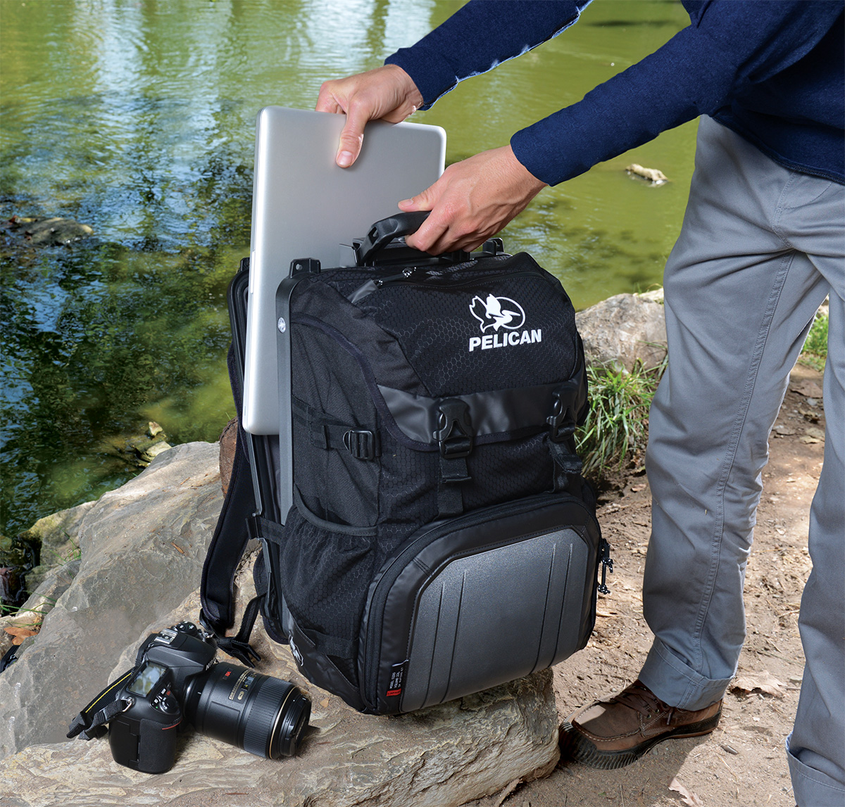 pelican peli products S130 photographer laptop camera backpack