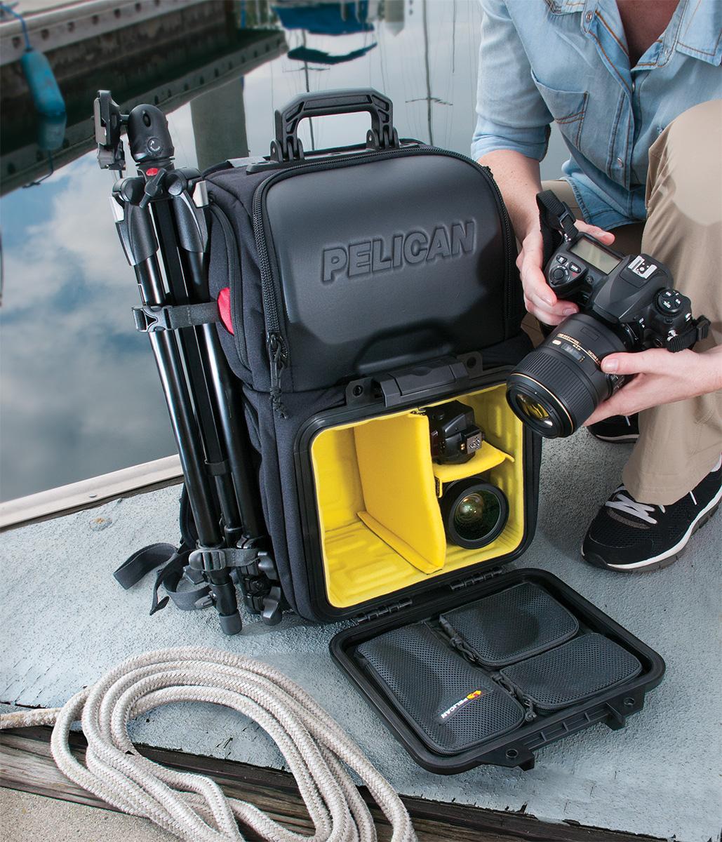 pelican peli products U160 padded camera lens bag backpack