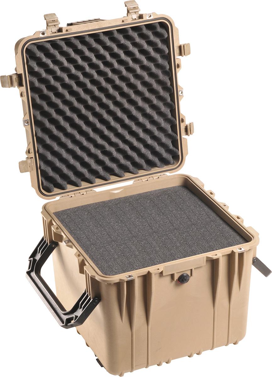 pelican 0340 desert tan cube case