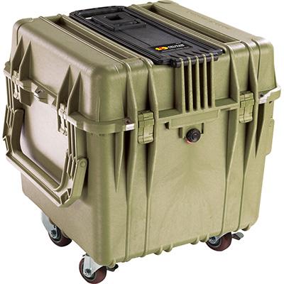 pelican 0340 protector cube case green