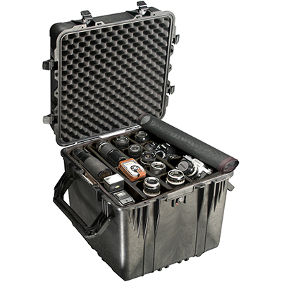 pelican 035 hard cube camera equipment case