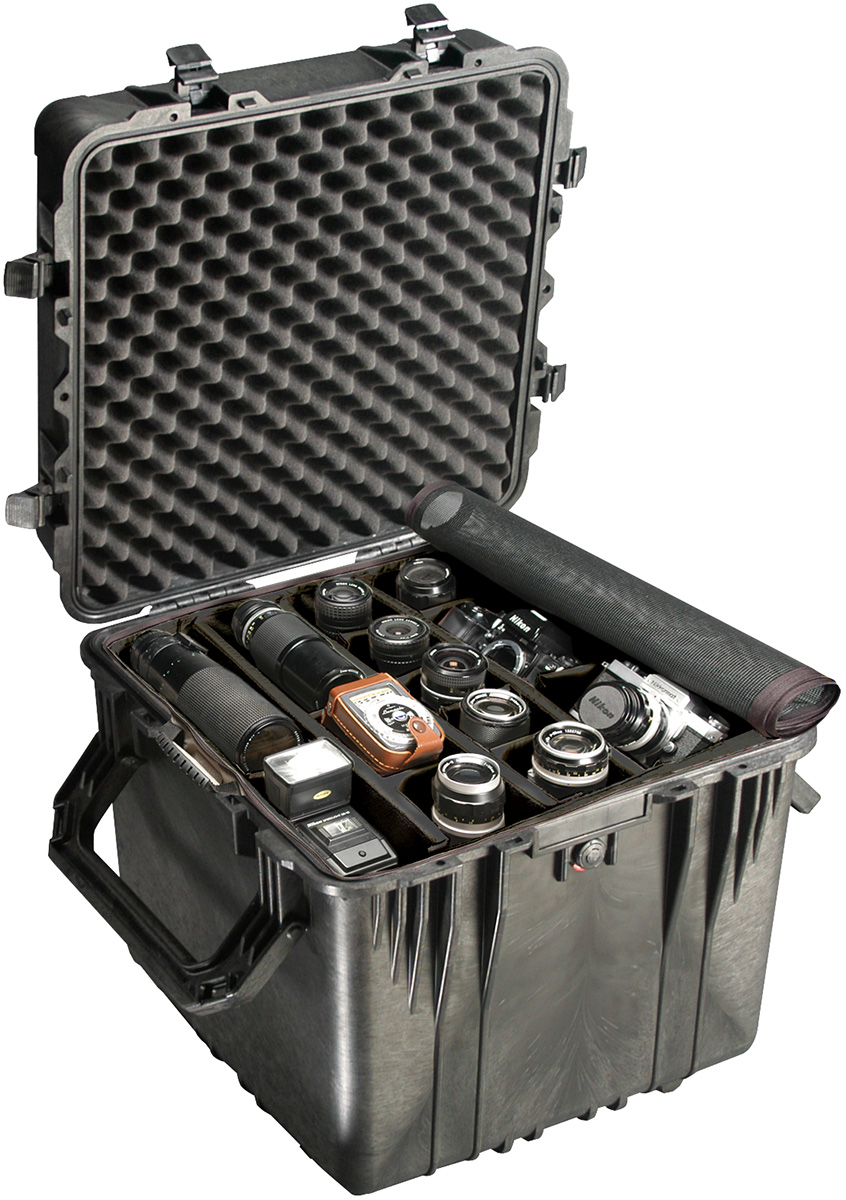 pelican 0350 hard cube camera equipment case