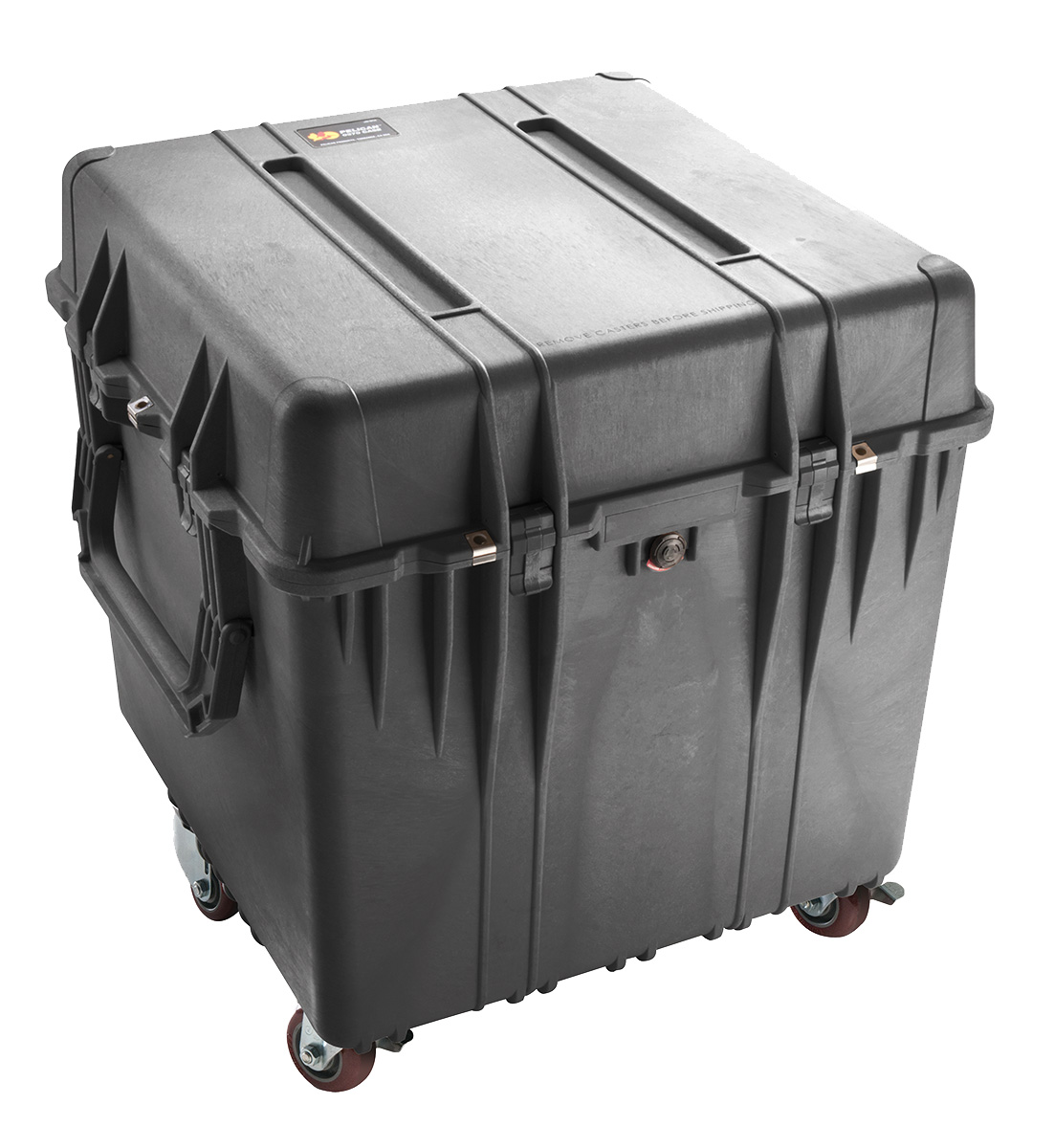 pelican 0370 black rolling military case