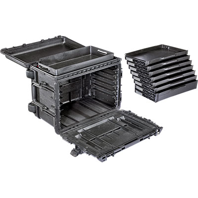 pelican 0450 gen 2 tool box sd6 drawers