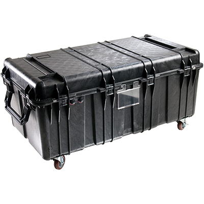 pelican 0550 protective rolling hard transport case
