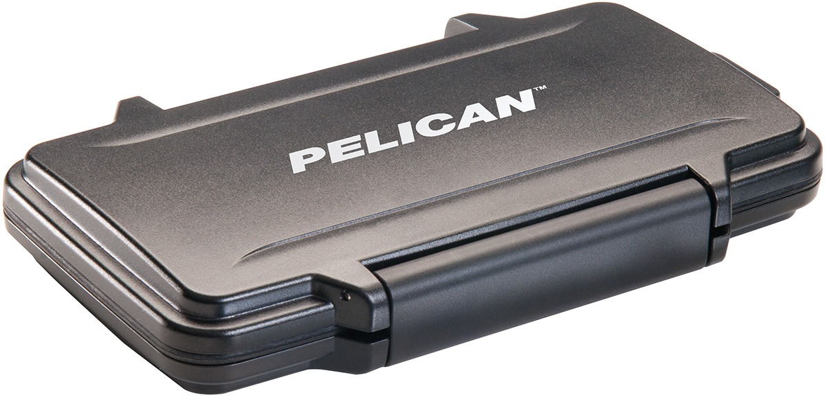 pelican peli products 0915 memory card hard camera case
