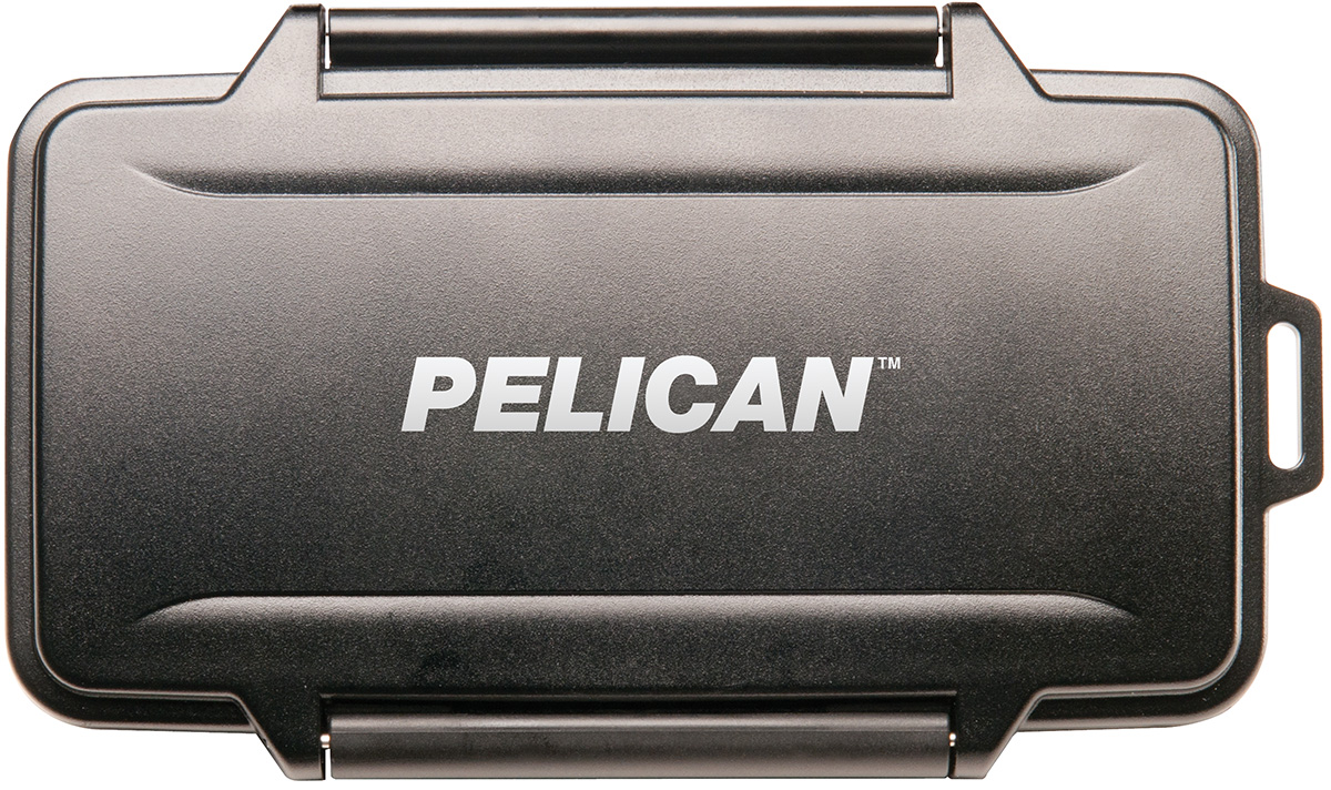 pelican waterproof memory sd card case