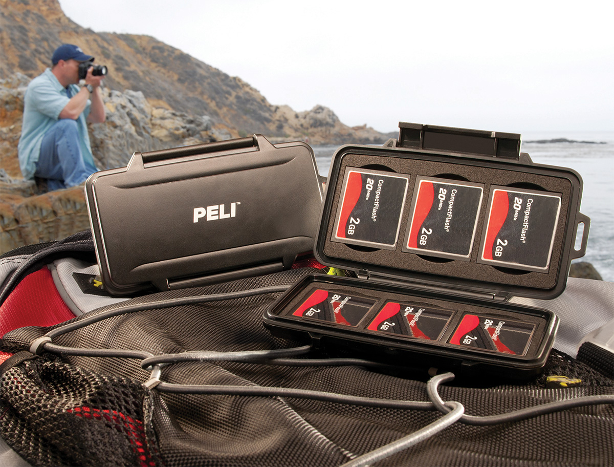 pelican 0945 compact flash camera card case