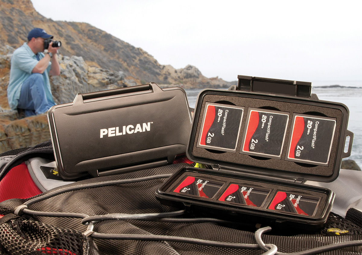 pelican 0945 waterproof compact flash hard case