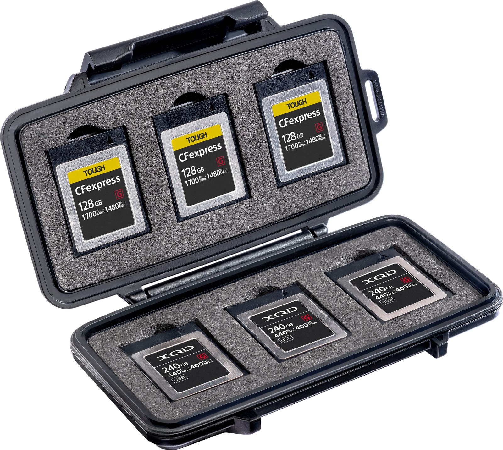 pelican 0965 cfexpress memory card case
