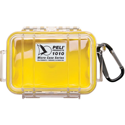 peli clear yellow micro case