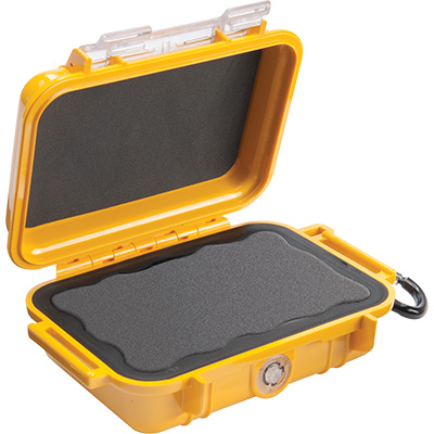 pelican 1010 micro case waterproof yellow