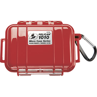 pelican 1010 solid strong red hard micro case