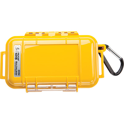 pelican 1015 watertight camera yellow micro case