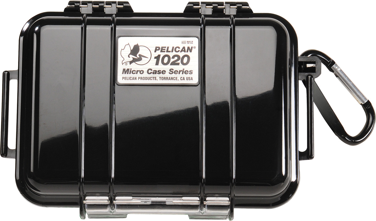 pelican 1020 black hard watertight micro case