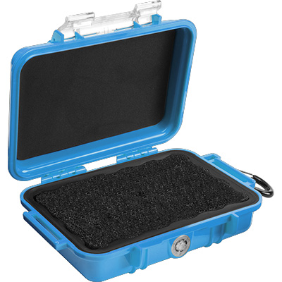 pelican 1020 micro case waterproof blue