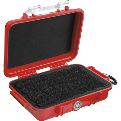 pelican 1020 micro red waterproof case