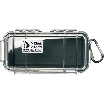 pelican 1030 watertight black protective case