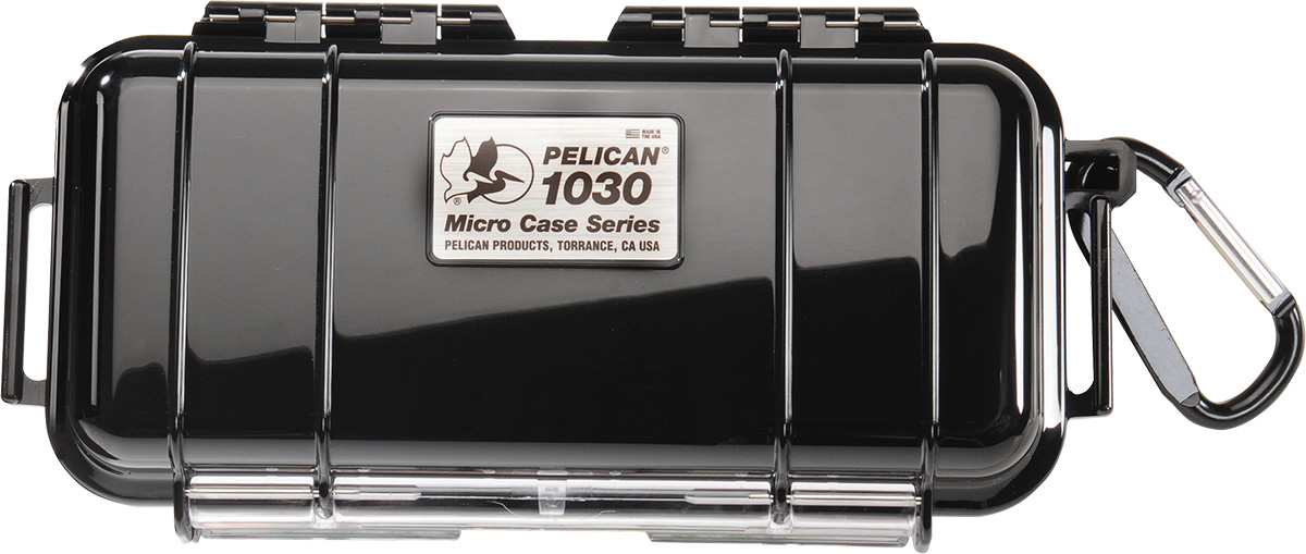 pelican 1030 watertight black micro case