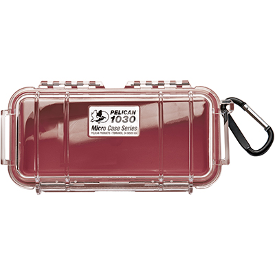 pelican 1030 survival waterproof red hard case