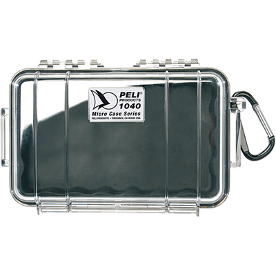 pelican 1040 waterproof electronics protection case
