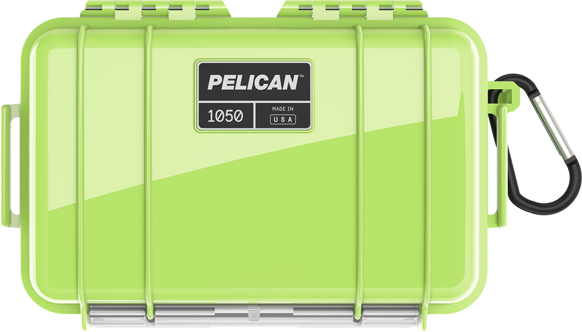 pelican 1050 bright green waterproof case