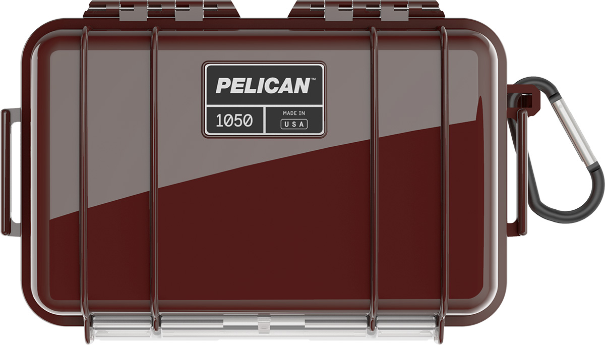 pelican 1050 oxblood waterproof case