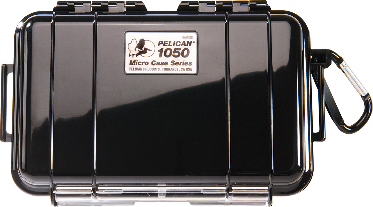 pelican 1050 solid black micro case