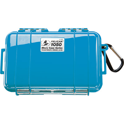 pelican 1050 solid blue micro case