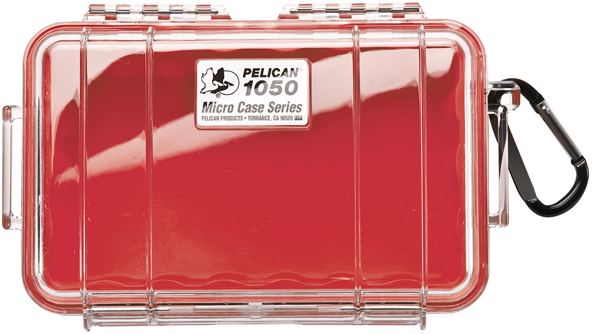 pelican peli products 1050 watertight hard yellow microcase