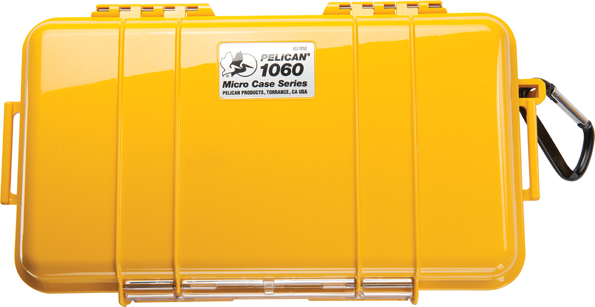 pelican 1060 1010 yellow submersible micro case