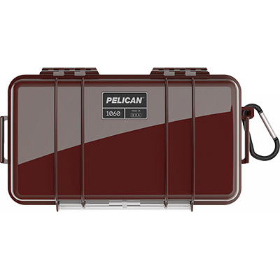 pelican 1060 oxblood waterproof case