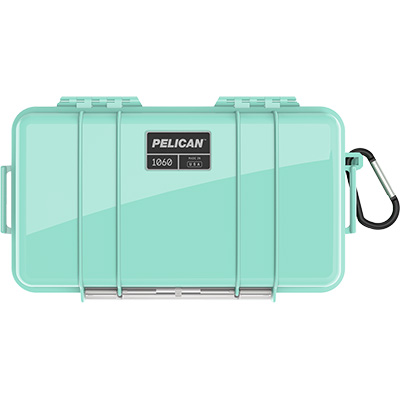 pelican 1060 seafoam waterproof case
