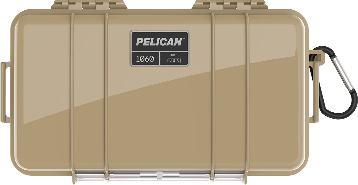 pelican 1060 tan waterproof case