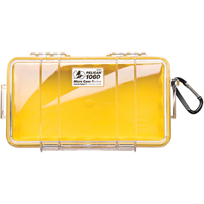 pelican 1060 waterproof protective yellow case