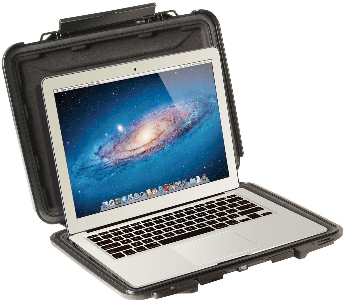 pelican 1070cc hard macbook air laptop protective case